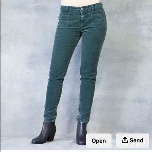 Closed Pedal X Green Cord Pants Size 28